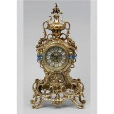 Часы из бронзы Барселона, золотые