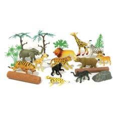 Игровой набор из 20 предметов В мире животных