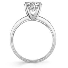 Кольцо для помолвки с муассанитом Melissa