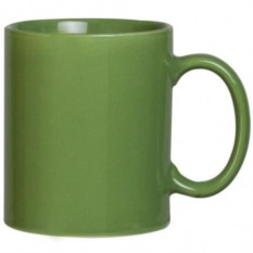 Зеленая кружка Promo