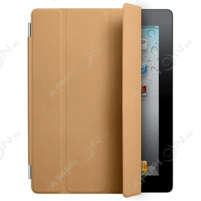 Чехол Apple iPad2 Smart Cover Leather Tan