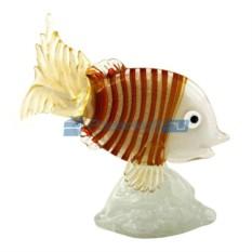 Фигурка из муранского стекла Рыба – высокий хвост