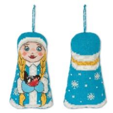 Набор для вышивания Игрушка. Снегурочка