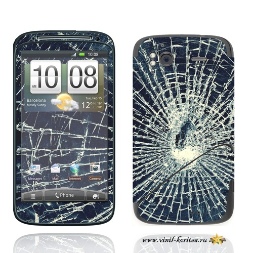 Наклейка Винил с корицей (HTC Sensation)