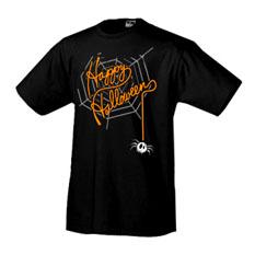 Футболка halloween Happy Halloween /pauk/