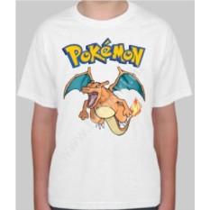 Детская футболка с покемоном Чаризард