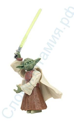 Фигурка Мастер Йода с мечом, Hasbro
