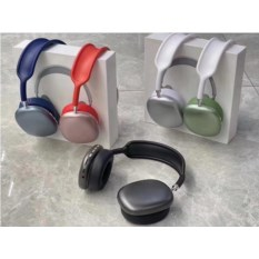 Беспроводные наушники Р9 Macaron Headphones, красный