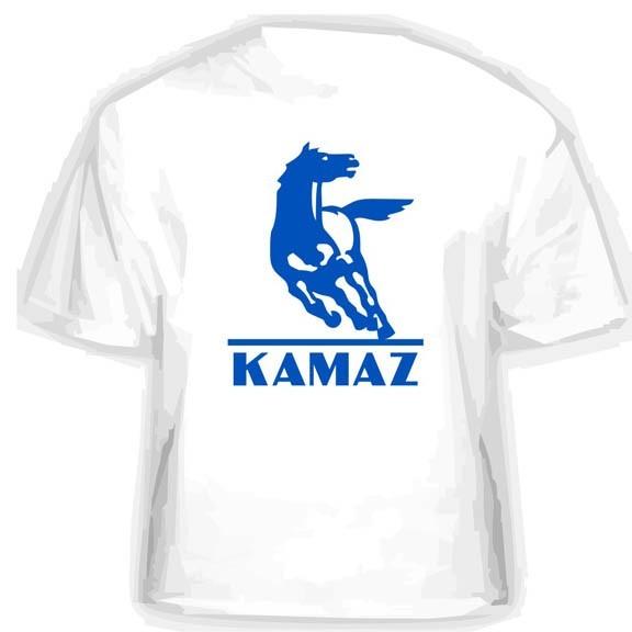 Прикольная футболка KAMAZ