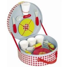 Детский набор посуды из 21 элемента Пикник
