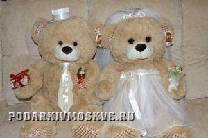 Свадебные медведи Моменты радости