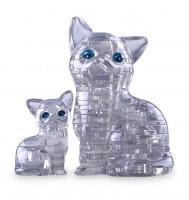 Головоломка 3D Crystal Puzzle «Кошки»