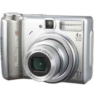 Фотоаппарат Canon PowerShot A570 IS