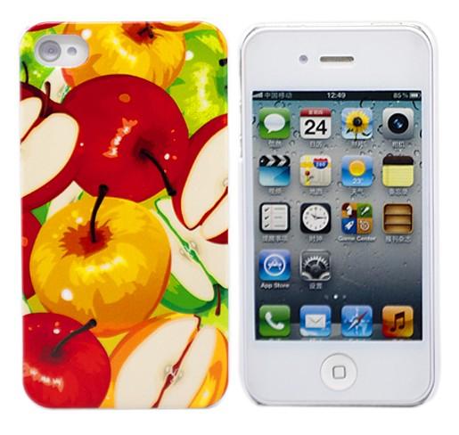 Чехол для iPhone 4/4S Juicy Apples
