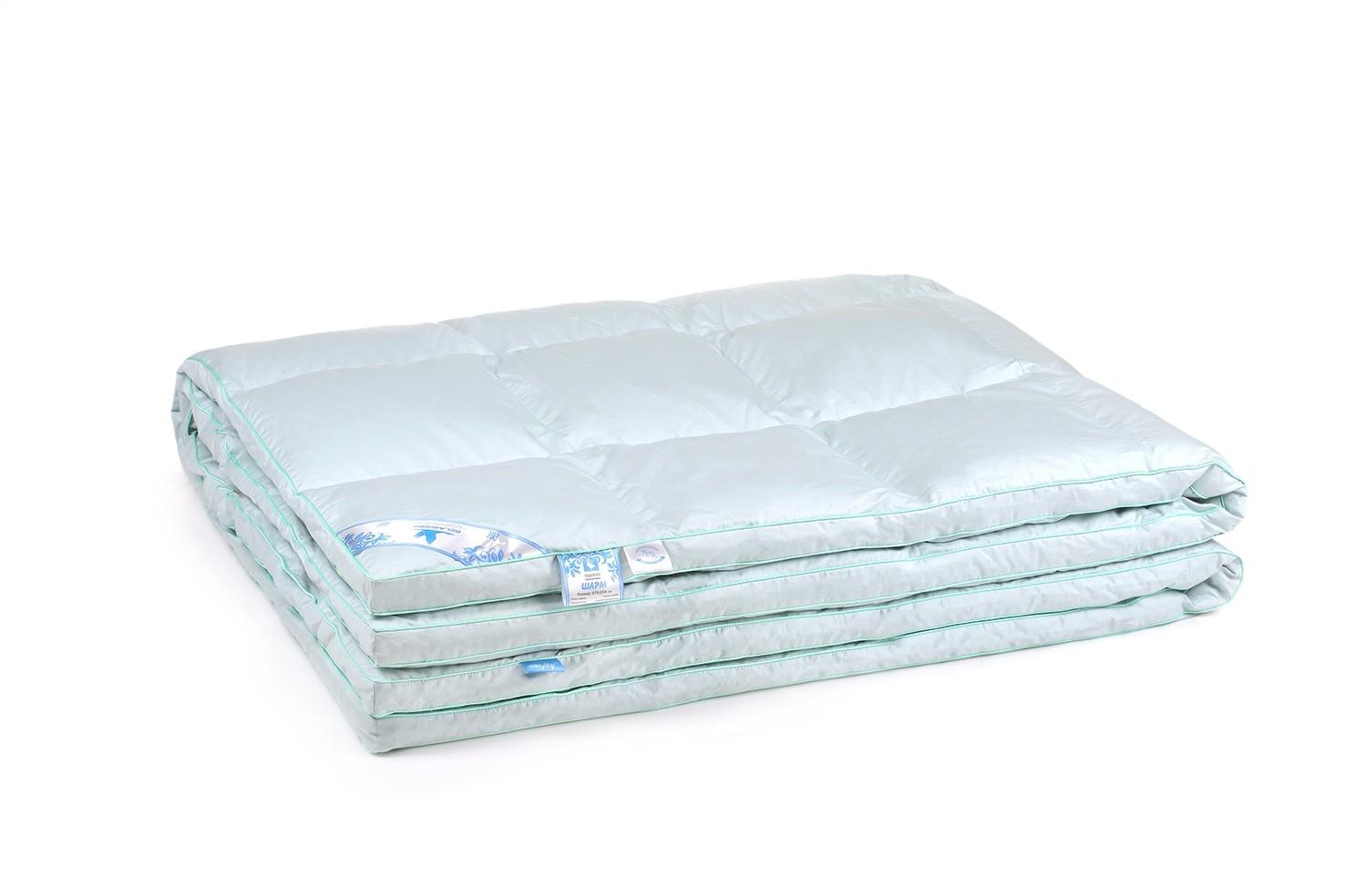 Одеяло пуховое Шарм (2 спальное)