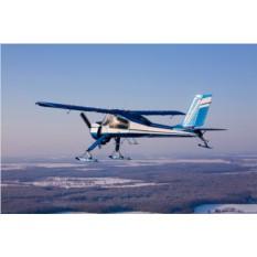 Урок пилотирования самолета Вильга-35
