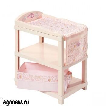 Игрушка Baby Annabell Шкафчик-столик для пеленания
