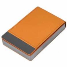 Оранжевый визитница Вертикаль