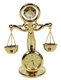 Фигурка Swarovski с часами Swarovski Весы