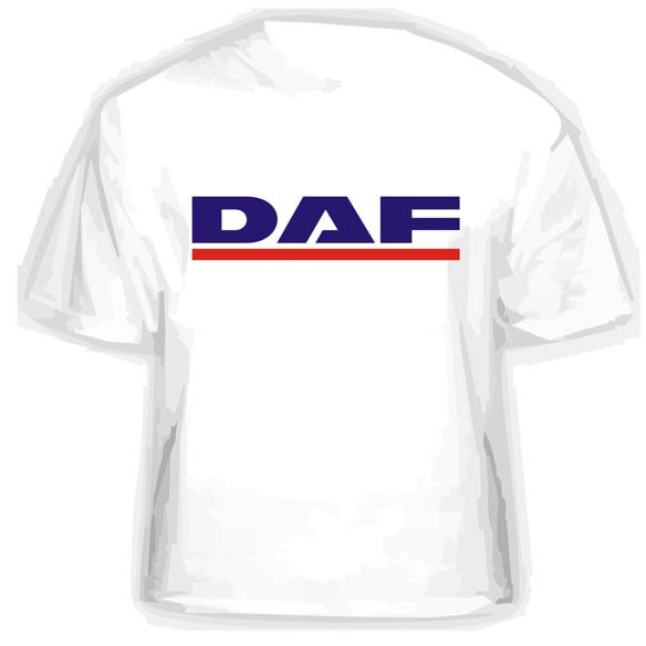 Прикольная футболка DAF