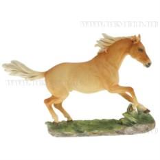 Декоративная фигурка Конь (цвет — свело-оранжевый)