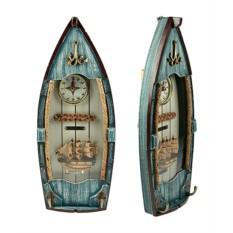 Коллаж-ключница Рыбацкое судно
