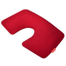 Красная надувная подушка для путешествий First Class