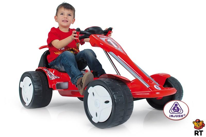 Детский электромобиль GO-Kart BIG WHEELS