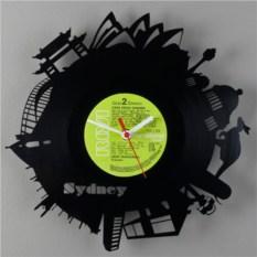 Часы из виниловой пластинки  Сидней