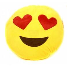 Подушка Влюбленный смайлик