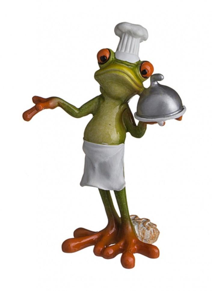 Фигурка Лягушка — повар