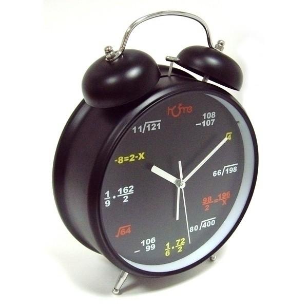 Настольные часы-будильник Черный гигант