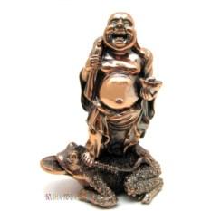 Статуэтка Хотей на жабе