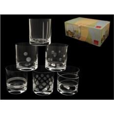 Набор стаканов для виски Ассорти