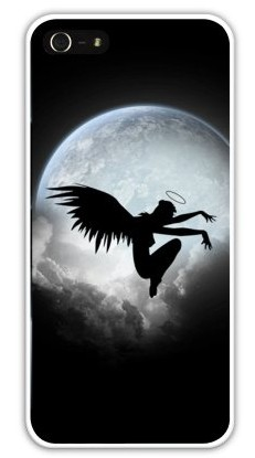 Чехол-накладка для iphone 5/5S, павший ангел