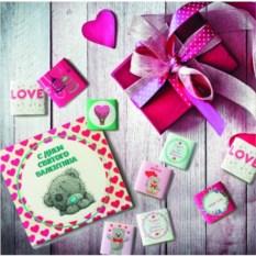 Шоколадный набор С днём святого Валентина