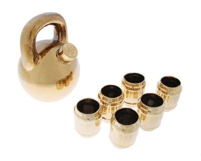 Винный набор Гиря (7 Предметов), золото