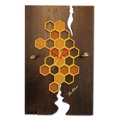Японские настенные часы «Пчёлки»