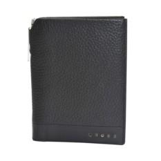 Черная обложка для паспорта и ручка Cross Nueva FV