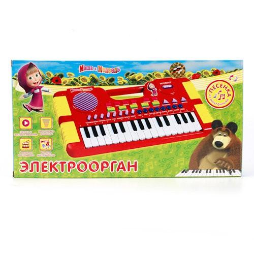 Музыкальная игрушка Электроорган Маша и Медведь