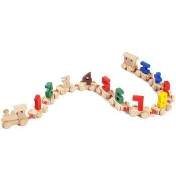 Детская игрушка Паровозик с цифрами