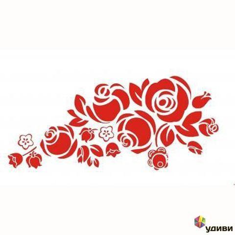 Наклейка Розы