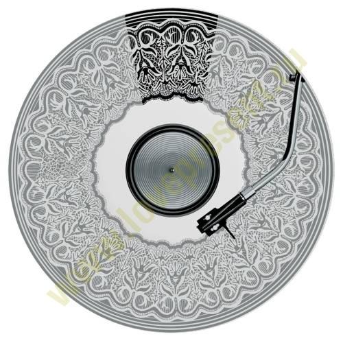 Сервировочное блюдо «Граммофон»