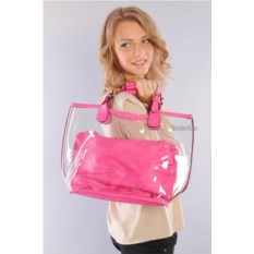 Розовая женская сумка Giovanna Milano pink