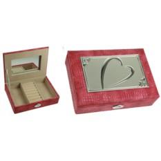 Розовая шкатулка для ювелирных украшений Moretto