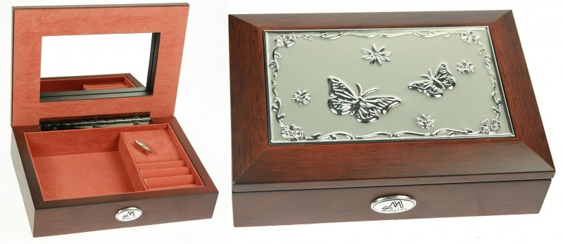 Музыкальная шкатулка для ювелирных украшений Farfalla