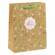 Подарочный пакет Цветочный