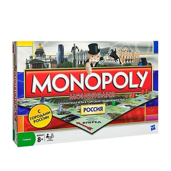 Настольная игра Hasbro Монополия-Россия