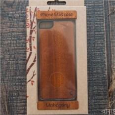 Деревянный чехол для iPhone 5/5s Красное дерево