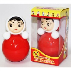 Пластмассовая игрушка Неваляшка (15 см)
